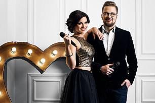 Дуэт ведущих Егор Холявин и Екатерина Бах