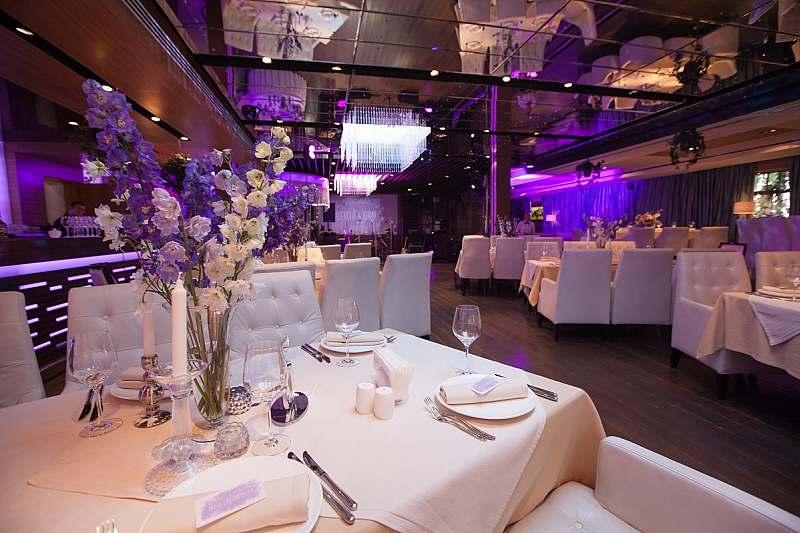 Ресторан светлый свадьба