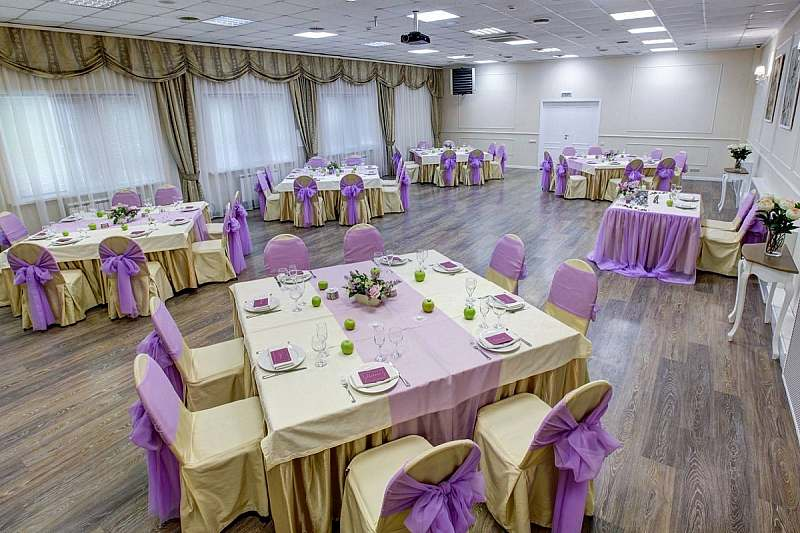 Ресторан для свадьбы при отеле